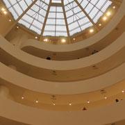 Le Guggenheim (NY) et sa fabuleuse architecture