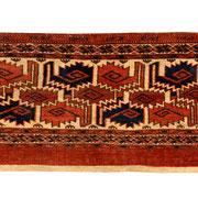 Kizil Ajyk Torba, 109 x 35 cm, Ende 19. Jhdt., erstklassige Erhaltung