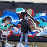 Bild: Graffiti entsteht