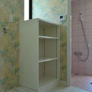 シャワー室完成