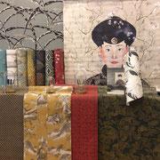 marie saïki papier peint villefranche beaujolais lyon kimono masureel