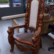 Königlich sitzen