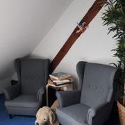 Unsere neuen kleinen Sessel...