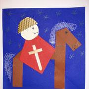Bastelzeit...der heilige Martin