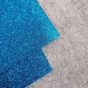 Gomma glitterata Blu