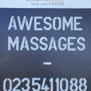 SPA Advertisement (Awesome Massages)