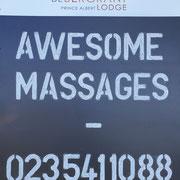 SPA Werbung (Fantastische Massagen)