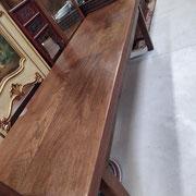 Très belle table ancienne en orme 2m70