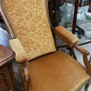 fauteuil ancien baculant