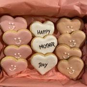 Cookies Herzen zum Muttertag