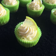 Limetten Cheesecakes