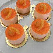 Orangen Törtchen mit Rosmarin