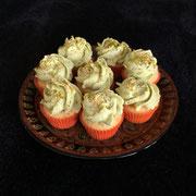 Orangen Pistazien Cupcake