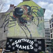 Bild: Graffiti - Spinne