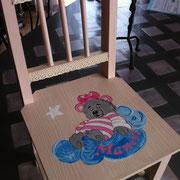 Chaise pour Manon.