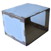 4. Pergamentpapier ankleben