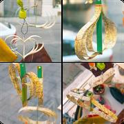 Papier-Ornamente zum Dekorieren, wir zeigen euch, wie es funktioniert