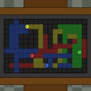 Die Spieler müssen mehr Felder in ihrer eigenen Farbe färben als die Gegenspieler. Items können dem Spieler einen großen Vorteil verschaffen.
