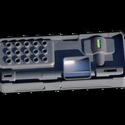 >> Design Dispergier-Werkzeug Aufbewahrungsbox mit Montagewerkzeug und Kurzanleitung  >> Design toolbox IKA disperser shafts