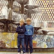 Besuch mit Olli in Berlin 1988