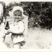 Auf dem Campingplatz ca. 1979
