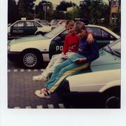 mit Olli bei der Polizei '90