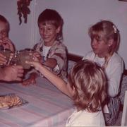 Einschulungsfeier von Alex 1989