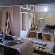 壁下地、家具造作
