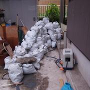 ゴミがこんなに出ます。3トンくらいでしょうか。