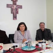 Interview und Diskussion mit Pater Prof. Udo Schmälzle, Journalistin Canan Topcu, Redakteur Thomas Meinhardt und Michèl Schnabel zum Thema: Islamunterricht in Deutschland.