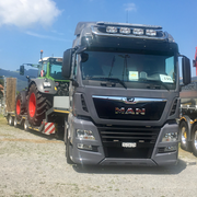 Kundenfahrzeug MAN TGX 18.500 von Baggervermietung Thurgau