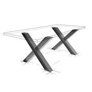 Möbelloft, Moebelloft, Tisch auf Maß, Tisch selber konfigurieren, Tisch selber gestalten, Designtisch, Designertisch, Tischgestell auf Maß, Tischgestell auf Wunsch, Tischgestell selber designen, Stahlgestell, Holzgestell, Glasgestell, Essen, Wuppertal