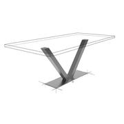 Möbelloft, Moebelloft, Tisch auf Maß, Tisch selber konfigurieren, Tisch selber gestalten, Designtisch, Designertisch, Tischgestell auf Maß, Tischgestell auf Wunsch, Tischgestell selber designen, Stahlgestell, Holzgestell, Glasgestell, Essen, Münster