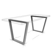 Möbelloft, Moebelloft, Tisch auf Maß, Tisch selber konfigurieren, Tisch selber gestalten, Designtisch, Designertisch, Tischgestell auf Maß, Tischgestell auf Wunsch, Tischgestell selber designen, Stahlgestell, Holzgestell, Glasgestell, Essen, hamburg