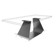 Möbelloft, Moebelloft, Tisch auf Maß, Tisch selber konfigurieren, Tisch selber gestalten, Designtisch, Designertisch, Tischgestell auf Maß, Tischgestell auf Wunsch, Tischgestell selber designen, Stahlgestell, Holzgestell, Glasgestell, Essen, Frankfurt
