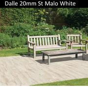 Dalle terrasse St Malo White