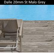 dalle terrasse St Malo grigio