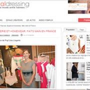 Blog  The Social Dressing / Janvier 2015