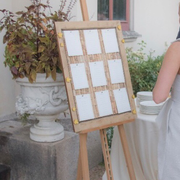 Trees and Sun pinboard at a wedding event in the UK, May 2019