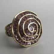 """П-1290. Кольцо """"English Rose"""" от дизайнера Хэйди Даус. Бронзированный ювелирный сплав, декор CRYSTALLIZED™-Swarovski Elements. В наличии все размеры. Ручная работа, авторский дизайн"""