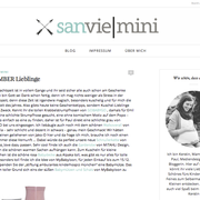 blog sanvie mini // dezember 2015