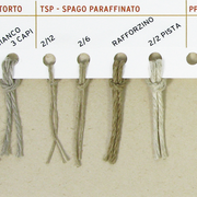 TLN - TWISTED LINEN - TWINE PARAFFINED / PPN - SYNTHETIC RAFIA