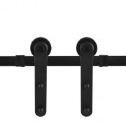 Schuifdeursysteem Modern Mat Zwart