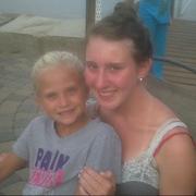 Caroline and Lauren