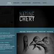 Nadine Chéry, coach vocal