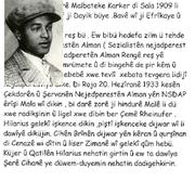 Biografie von Hilarius Gilges in Kurdisch.