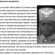 Situation von Schwarzen Menschen zur Zeit des Nationalsozialismus in Türkisch.