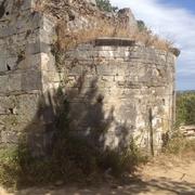 San Pietru : Façade orientale et abside (Patrimoniu - Haute-Corse)