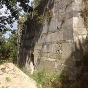 San Pietru : Mur méridional (parement extérieur) (Patrimoniu - Haute-Corse)