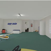 Interior view of the CTC (digital rendering)